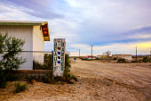 istock Abandoned buildings in Bombay Beach, Salton City, California, United States. 899320980