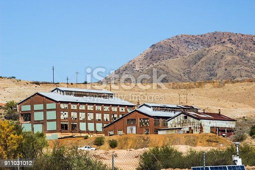 istock Abandoned Buildings Once Used For Mining Operations 911031012