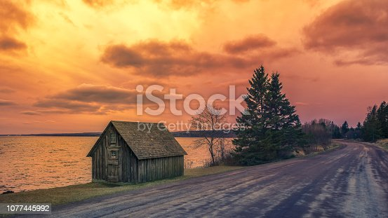 876420064istockphoto abandoned cabin by lake superior 1077445992