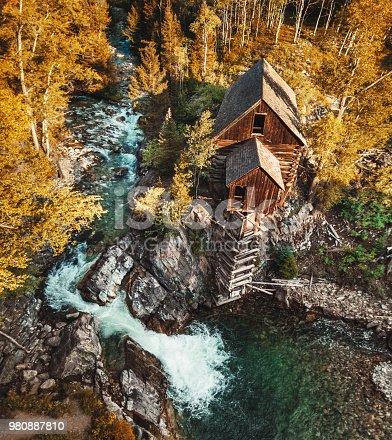 abandoned cabin in colorado