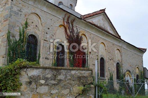 istock Abandoned Church 1004688828