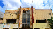 Abandoned Cinema in Willemstad on the caribbean Island of Curacao.