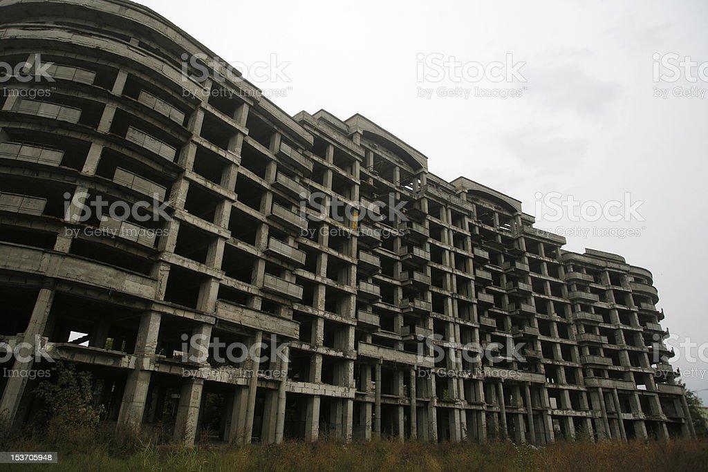 Abandoned construction royalty-free stock photo