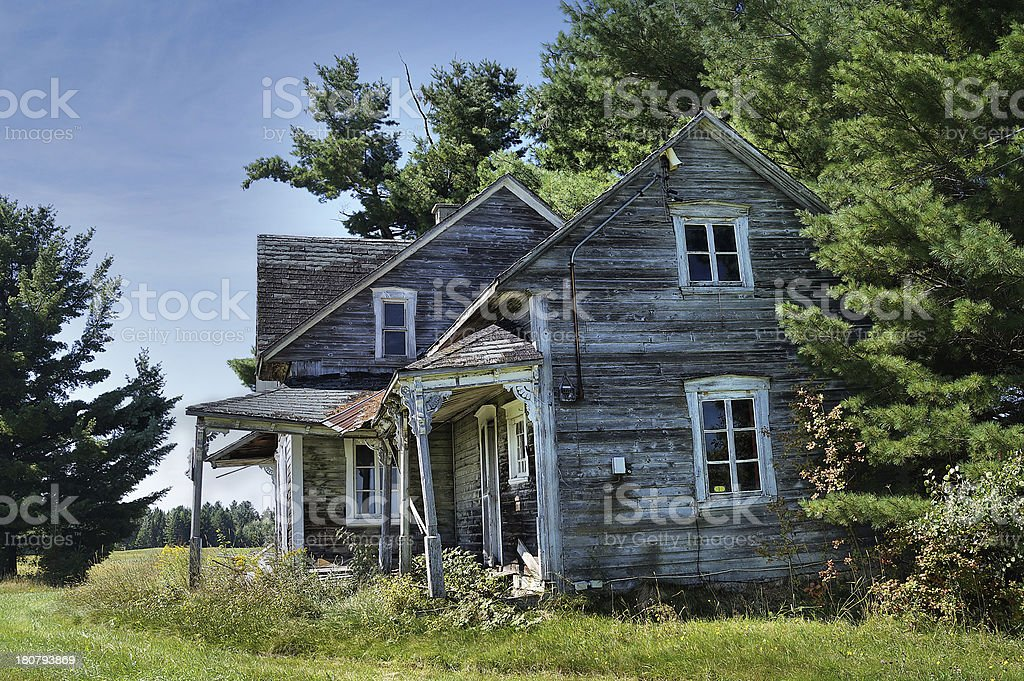 Abandoned Creepy Old House Stock Photo Download Image Now Istock