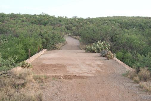Abandoned Desert Bridge