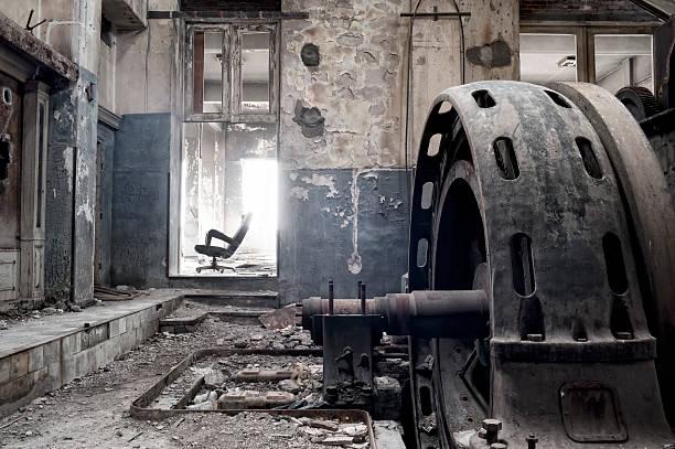Verlassenen Fabrik – Foto
