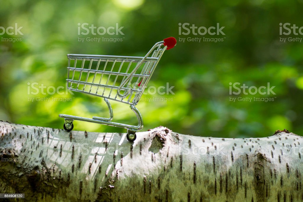 Abandoned Fairy Trolley royalty-free stock photo