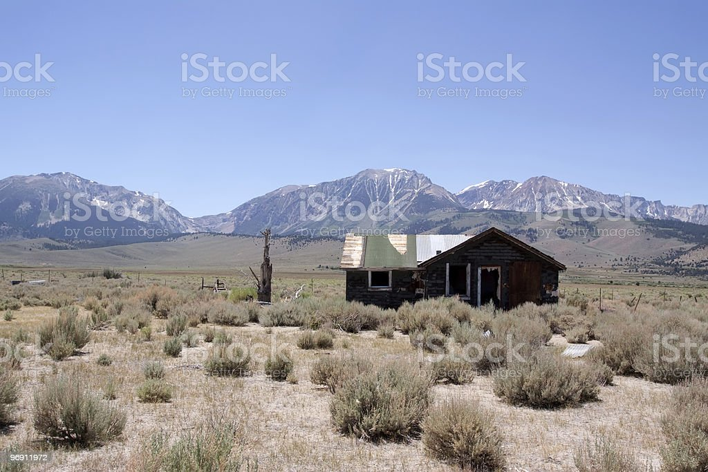 Abandoned farm house royalty-free stock photo