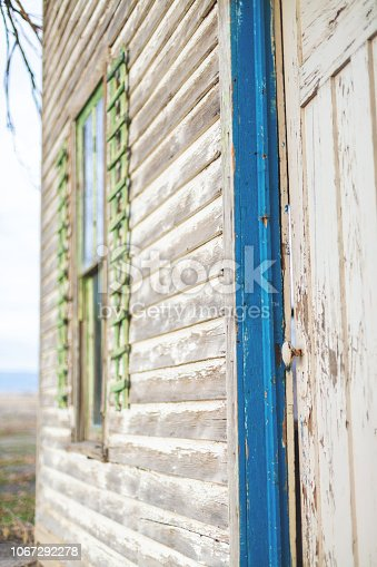 Backgrounds of Abandoned Farm House Rural Elements and Surfaces and Outdoor Textures Western Colorado