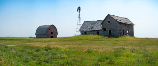 Abandoned Farm in Southern Alberta, Canada