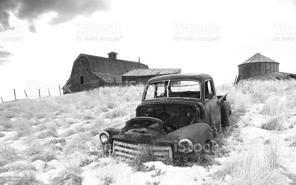 Abandoned Farm stock photo