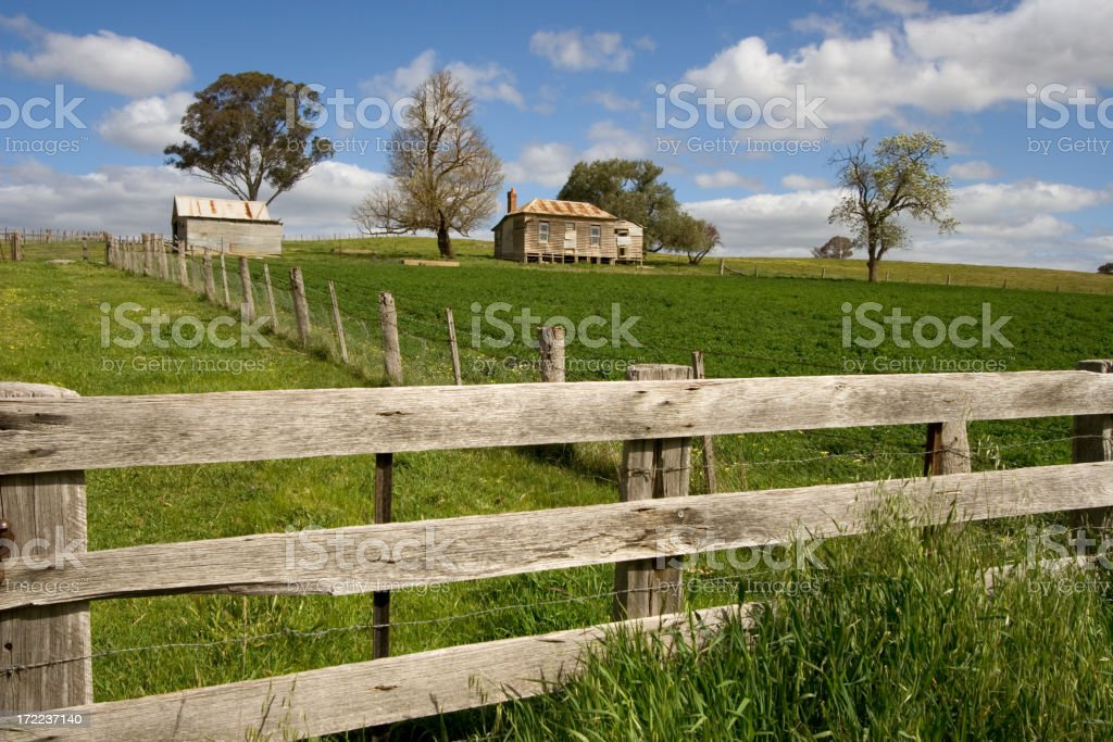 Abandoned Farmhouse stock photo