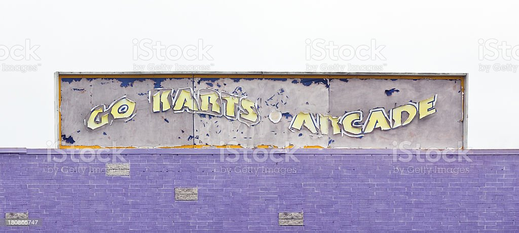 Abandoned Fun Park royalty-free stock photo
