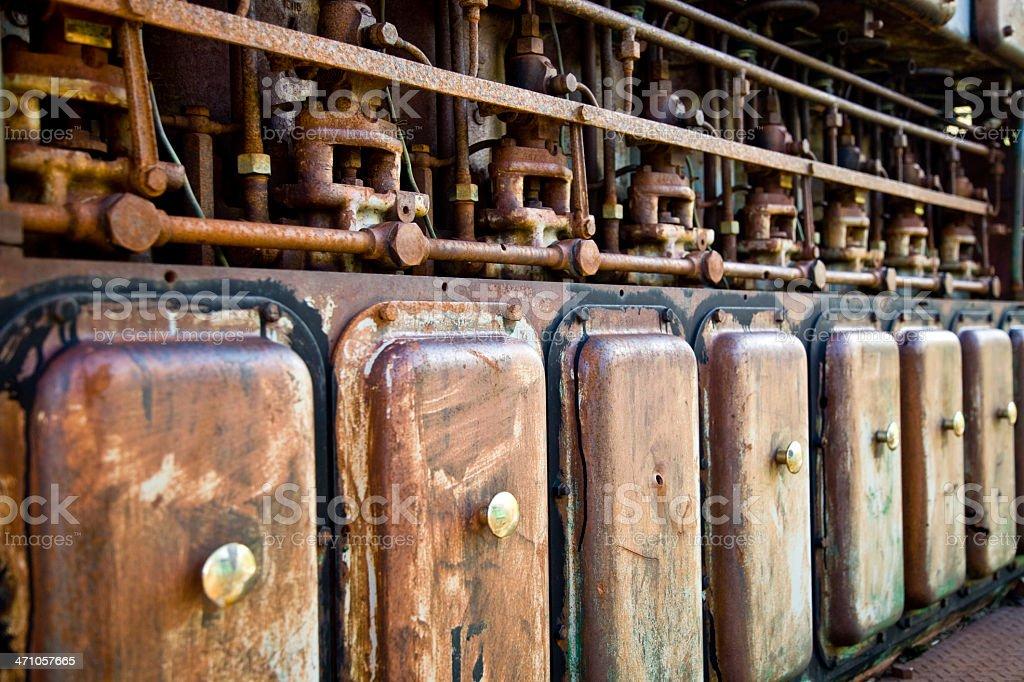 Abandoned Generator royalty-free stock photo