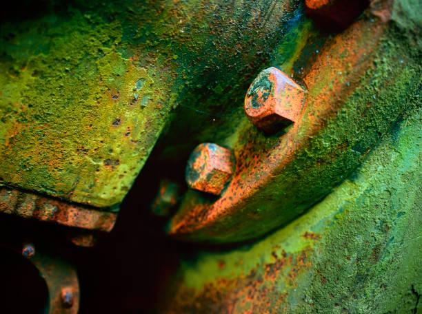 Abandoned Generator Study 1 stock photo