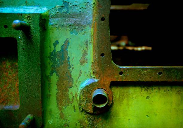 Abandoned Generator Study 3 stock photo