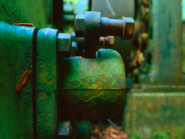 Abandoned Generator Study 4 stock photo