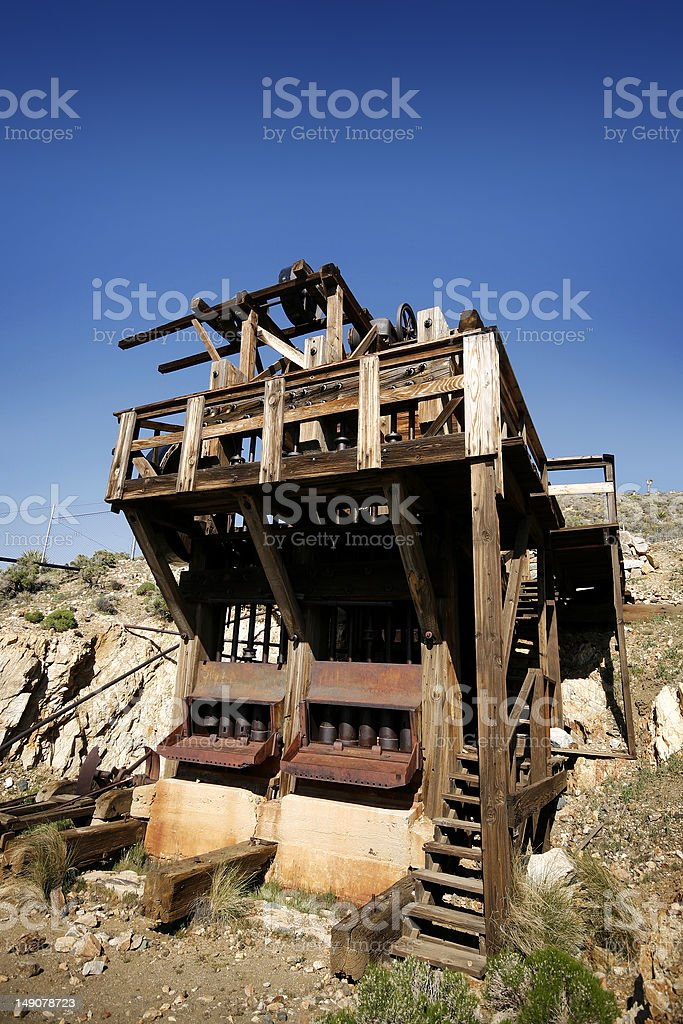 Abandoned Gold Mine royalty-free stock photo