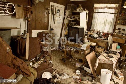 istock Abandoned Home 157568086