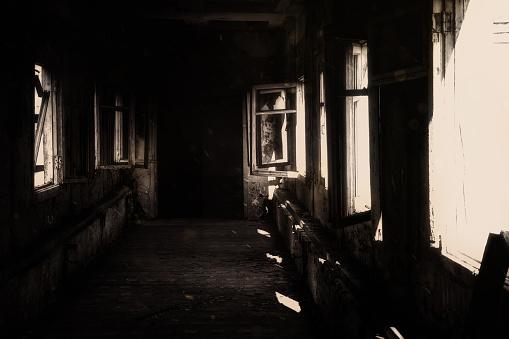 Abandoned Hospital, Horror, abyss