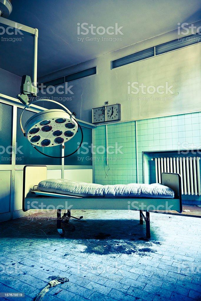 Abandoned Hospital Surgery Room Nobody royalty-free stock photo