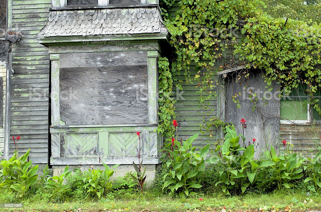 abandoned house a royalty-free stock photo