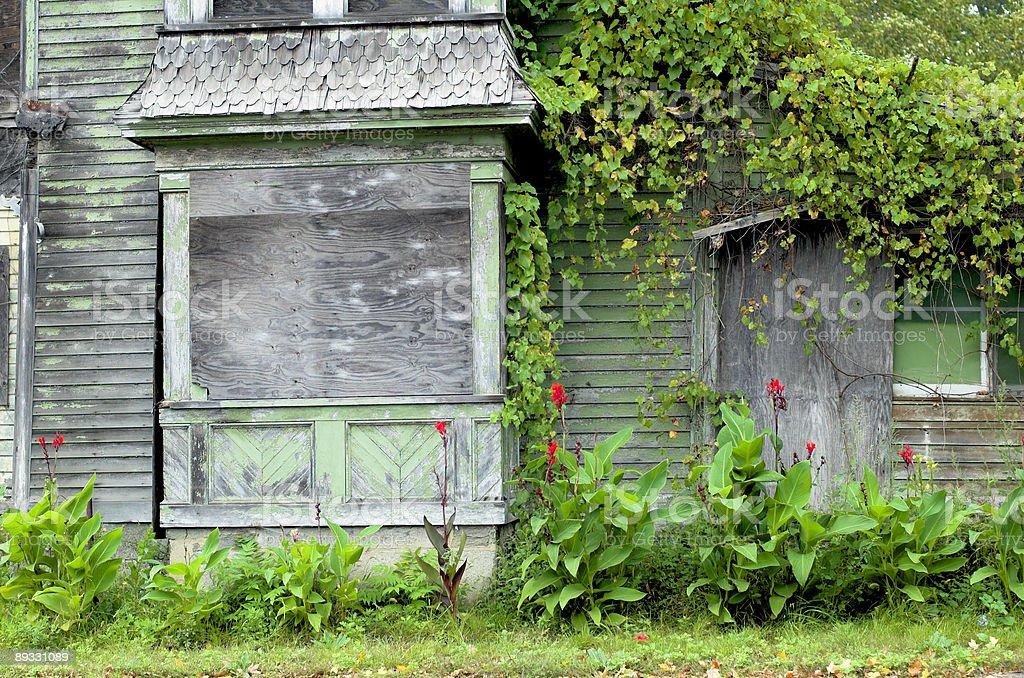 abandoned house a stock photo