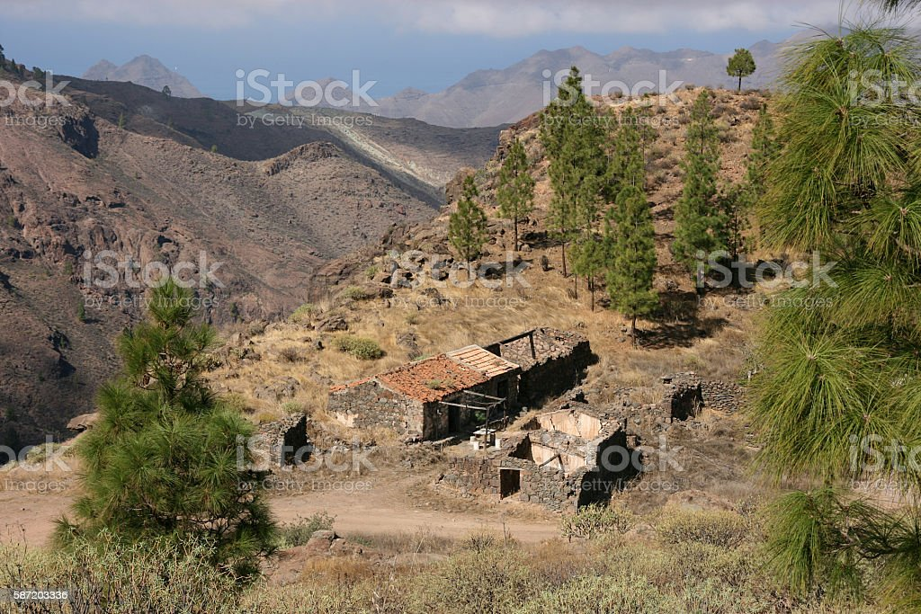 Abandoned house gran canaria spain stock photo istock - Houses in gran canaria ...