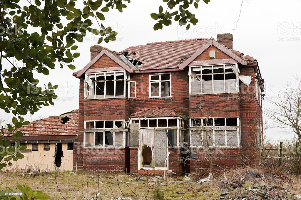 Abandonada House - foto de acervo