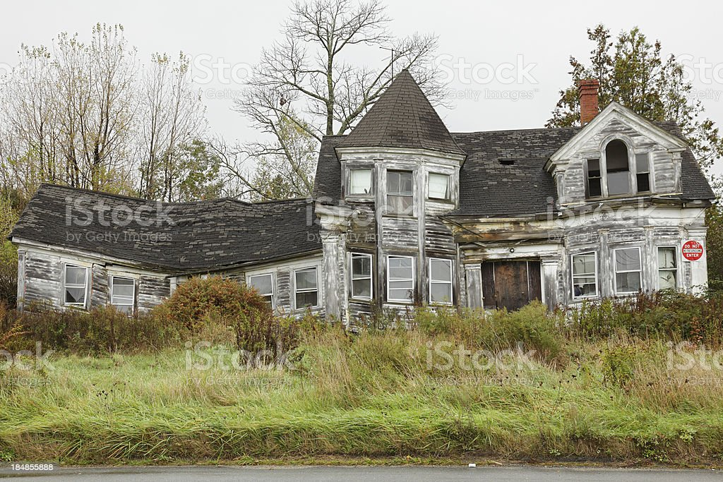 Abandoned House royalty-free stock photo