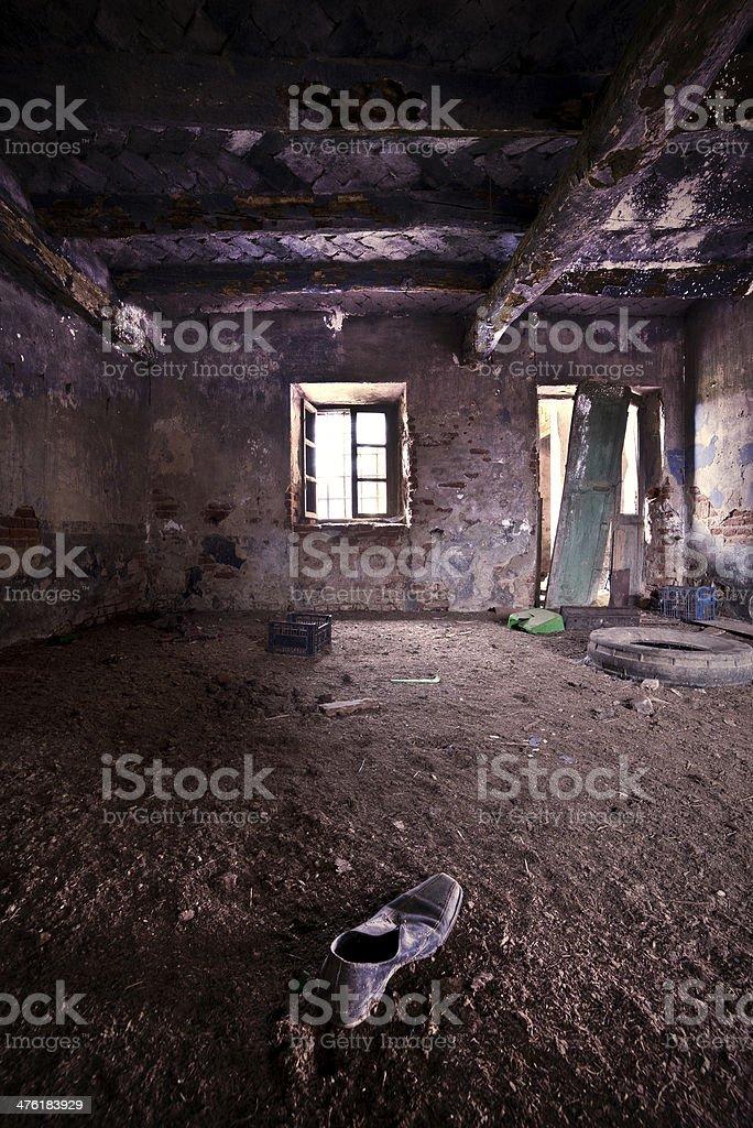 Abandoned house royalty-free stock photo