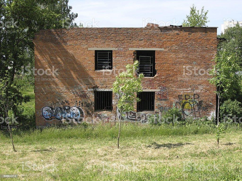Abandonado house foto de stock libre de derechos