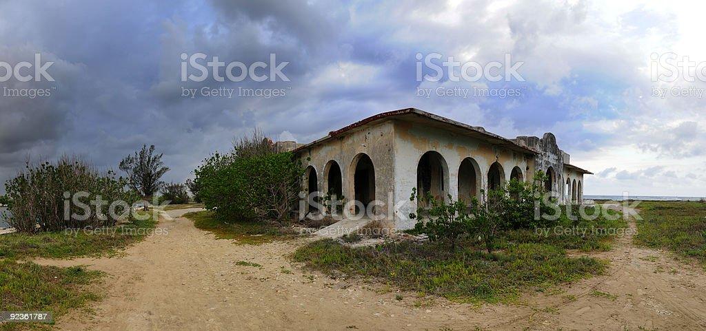 Verlassenen Haus Lizenzfreies stock-foto