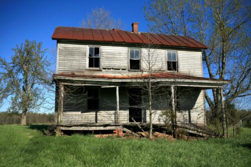Abandoned House Rural America