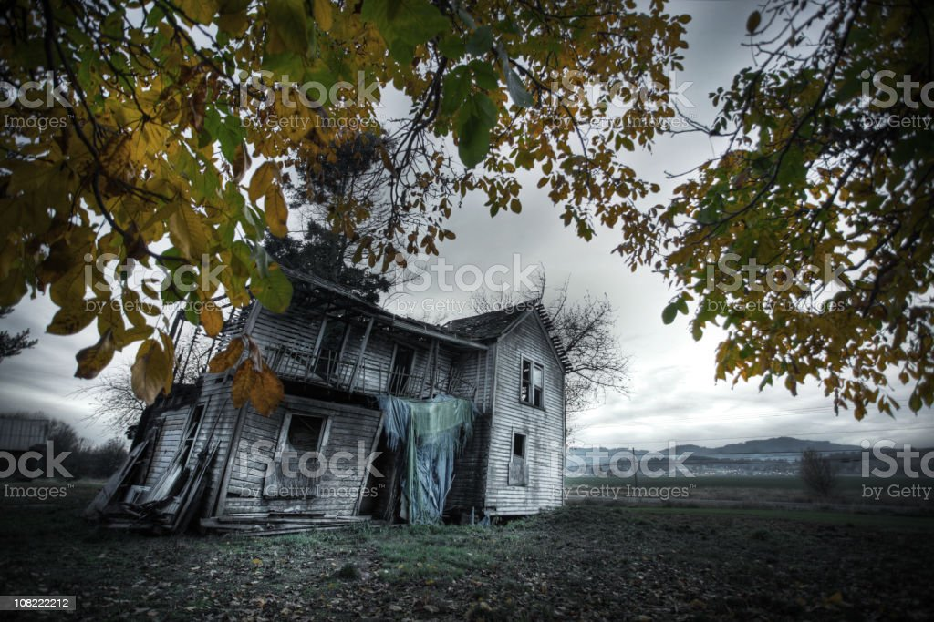Abandoned house series royalty-free stock photo