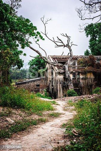istock Abandoned houses in Yim Tin Tsai, Sai Kung Village, Hong Kong 1292102380