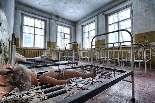 Abandoned kindergarten