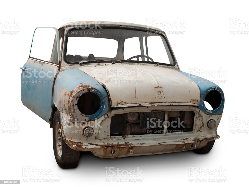 Abandoned Mini stock photo