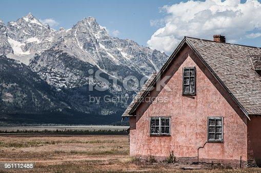 Abandoned Morman Settlement Grand Teton Nation Park