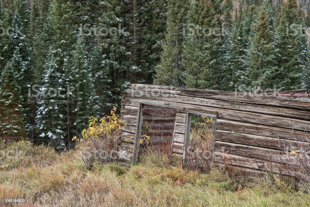 Abandoned Mountain Cabin Stock Photo Download Image Now Istock