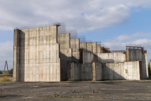 Verlassenen Nuclear Power Plant Stockfoto und mehr Bilder von AKW-Reaktorbereich