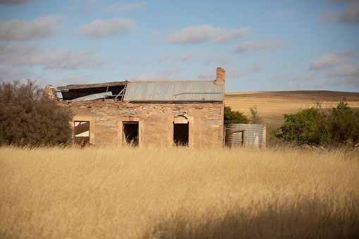 Abandoned Old Farm Building Stock Photo - Download Image Now