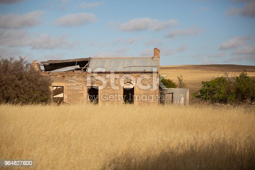 Abandoned Old Farm Building Stock Photo & More Pictures of Abandoned