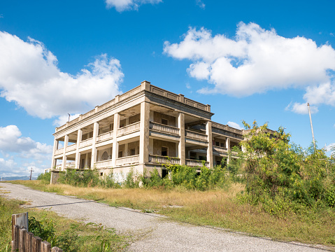 Abandoned old hospital in the countryside of Puerto Rico.