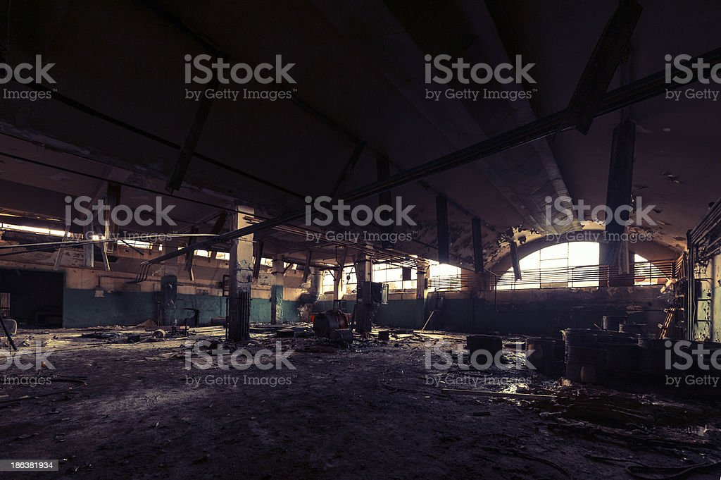abandoned royalty-free stock photo