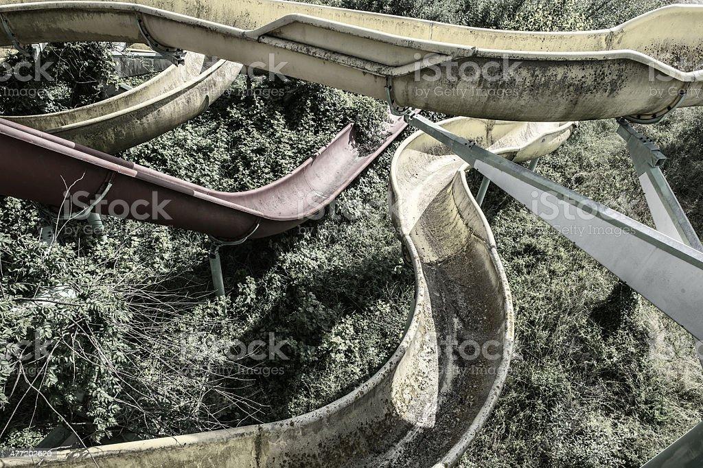 Abandoned place stock photo
