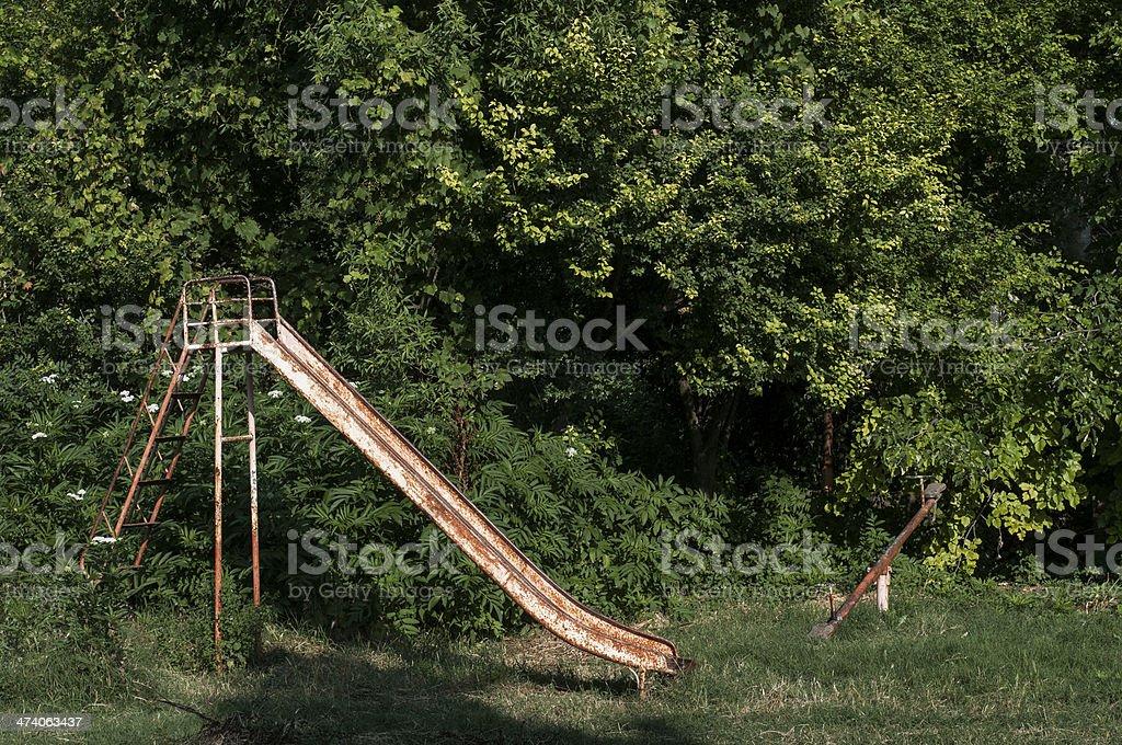 Abandoned Playground Stock Photo Download Image Now Istock