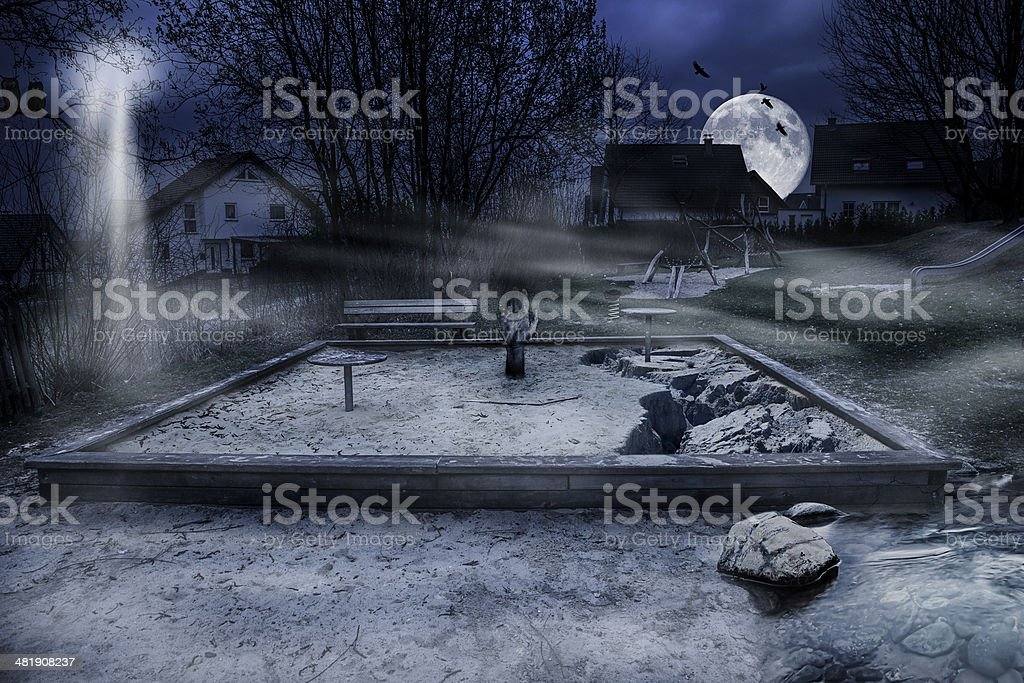 Abandoned Playground Stock Photo Download Image Now Istock