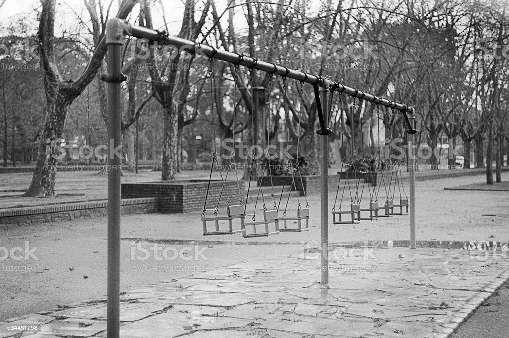 Abandoned Playground Swing Stock Photo Download Image Now Istock