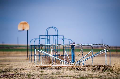 Abandoned Playground Toys